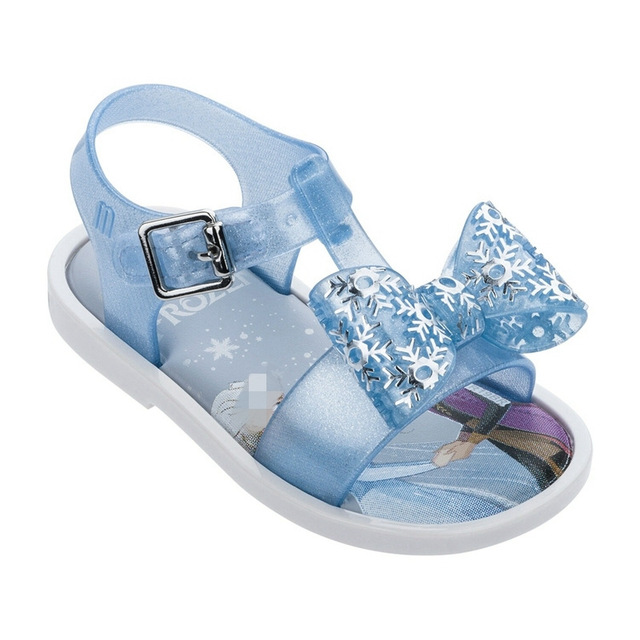 Mini Melissa Girls Sandals Unicorn Elsa Jelly Shoes Children Sandals Breathable Non-Slippery  Summer Jelly Shoes Melissa