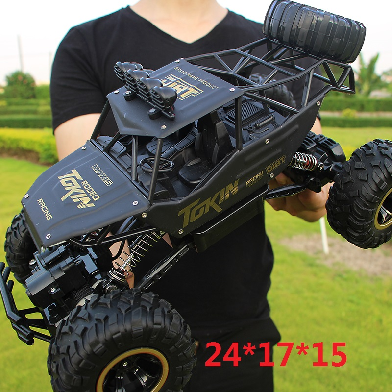 1:16 4WD Rc Car Four-Wheel Drive Climbing Dirt Bike Buggy Radio 2.4G Remote Control High Speed Racing Car Model Toys For Kids