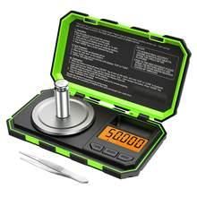 0.001g Mini dijital ölçekli miligram ölçeği taşınabilir takı ölçeği pişirme ölçeği mutfak terazisi karat ölçeği 50g kalibrasyon