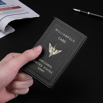 100% Leather Luxury Wallet Short Slim Male Purses Money Clip Credit Card Small Mini Ultra-thin men Wallets Business Wallets short men wallets 100
