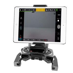 Image 5 - DJI support de télécommande support téléphone tablette avant support de support pour DJI Mavic 2 Pro DJI Mavic Air étincelle pince de montage pour tampon