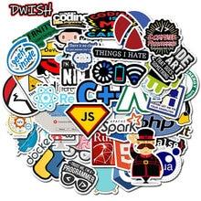 10 30 50pcs Programming Geek Java Stickers Skateboard Guitar Suitcase hydroflask Graffiti Sticker Kids girl Children