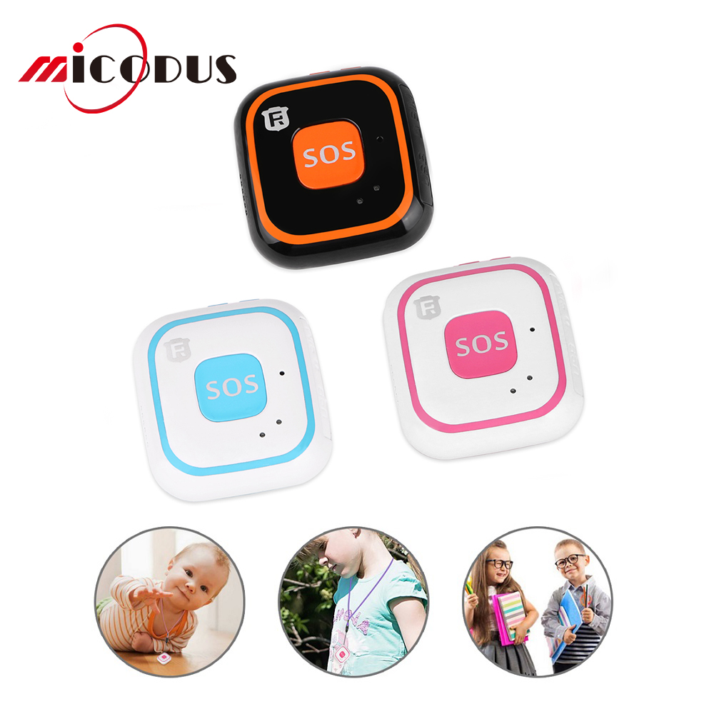 Mini GPS Tracker Children For elderly WIFI Two Way Calls Realtime Tracking LBS Locator SOS Alarm Voice Monitor RF-V28 Free APP image