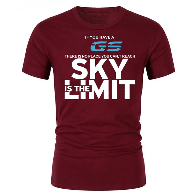 <font><b>GS</b></font> Sky Is The Limit Men T-shirt cool cotton mens <font><b>Tshirt</b></font> youth Skateboard hipster streetwear homme topstees Trendy male t shirts image