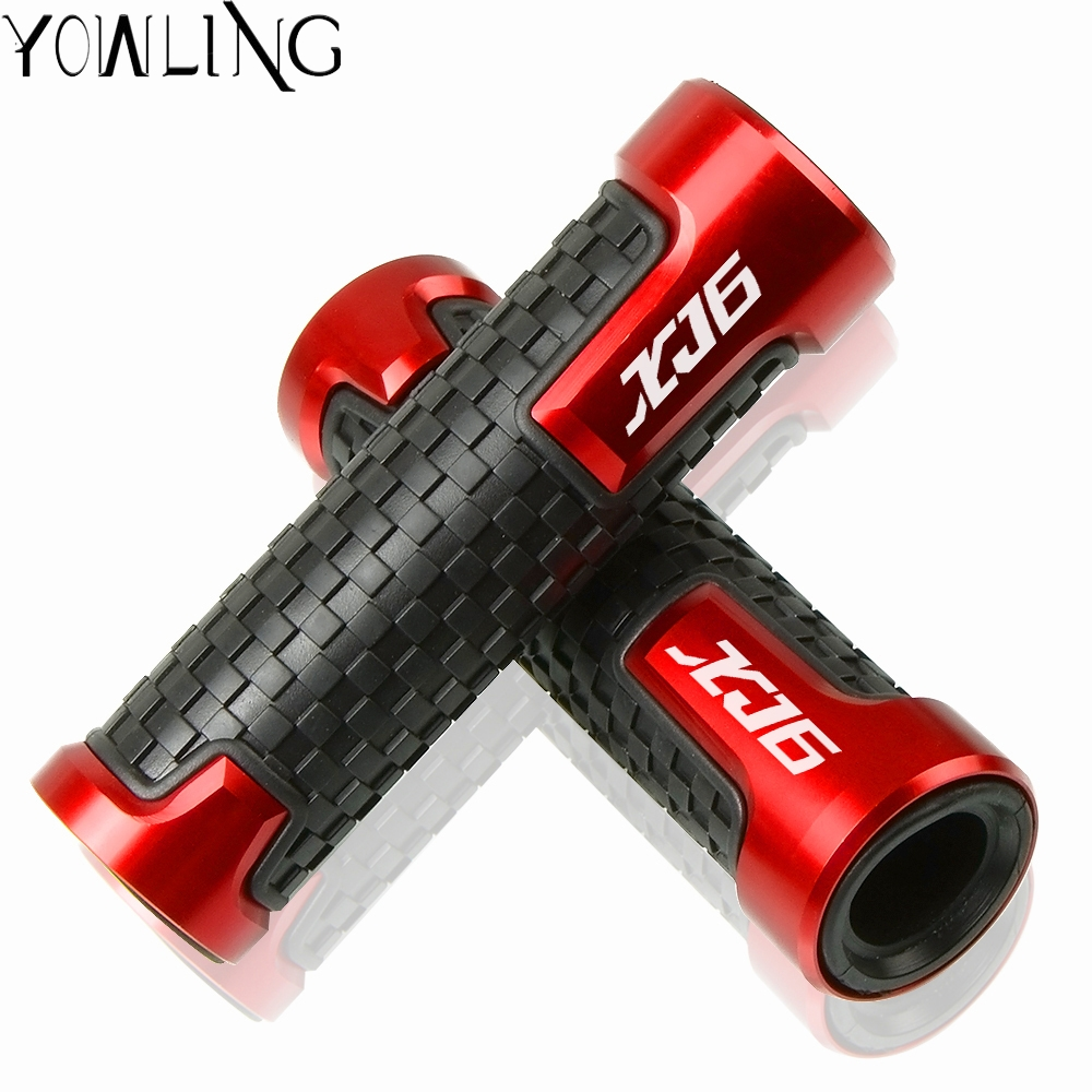 Motorcycle Hand Grip handle Bar handlebar grips FOR Yamaha XJ6 SP /N/ XJ6 DIVERSION 2009 2010 2011 2012 2013 2014 2015 2016 <font><b>2017</b></font> image