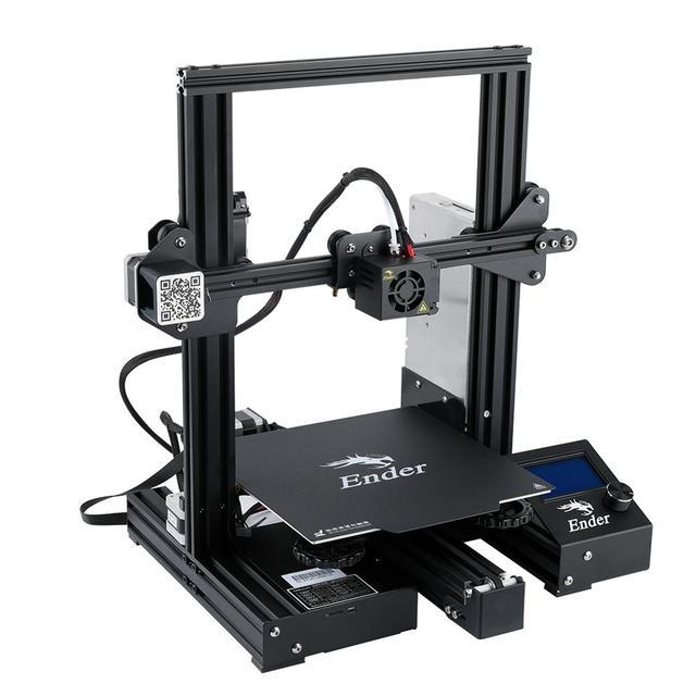 Ender-3 Pro 3D impresora DIY KIT uprad imán placa de construcción Ender-3Pro de la impresión de la falla de energía de la manera Mean Well Creality 3D