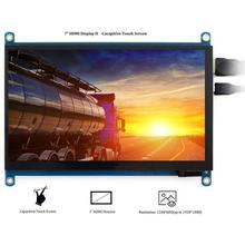Durable HDMI Display Delicate Texture For Raspberry Pi 4B/3B+ 1024 X 600 HDMI Monitor 7 inch LCD Dis
