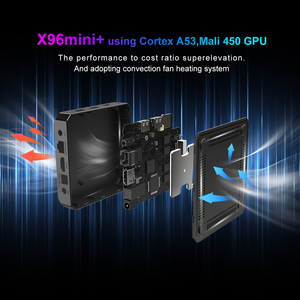 Image 5 - 2021 X96 Mini Plus TV Box Android 9.0 Amlogic S905W4 Quad Core A53 Dual Wifi H.265 4K 30fps supporto Google Voice Youtube X96Mini