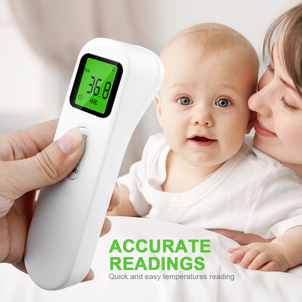 MrY New Infrared Forehead Digital  IR Laser Thermometer Infrared Thermometer Adult Body Temperature Measurement Device