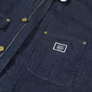 Image 5 - SIMWOOD 2020 hiver nouveau épais polaire manteaux hommes denim shearling veste de haute qualité grande taille manteaux marque vêtements I980629