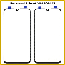 New P Smart TouchScreen For Huawei P Smart 2019 POT-LX3 POT-LX1 Touch Screen Panel LCD Front Outer Glass Lens Replacement