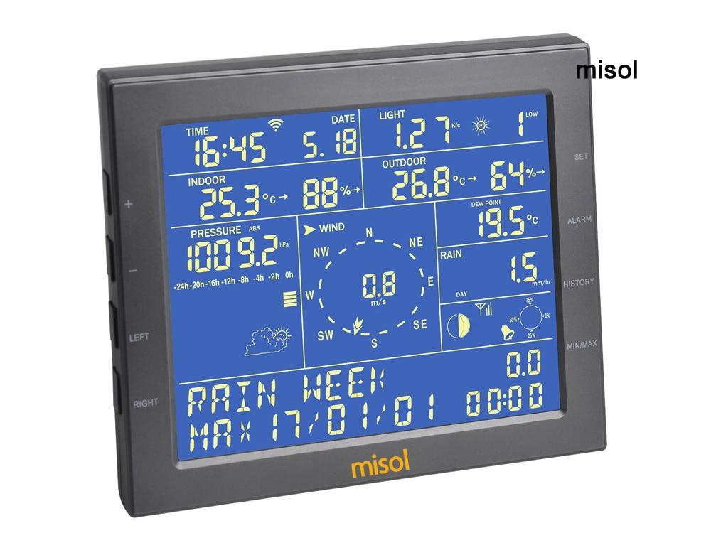 """""""Misol"""" / Belaidė oro stotis prisijungia prie """"WiFi"""", - Matavimo prietaisai - Nuotrauka 4"""