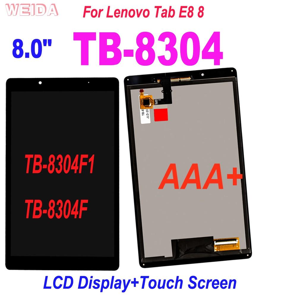 ЖК-дисплей AAA + 8 дюймов для Lenovo Tab E8 8 ТБ 8304 ТБ-8304 ТБ-8304F1