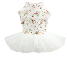 Весенне летнее кружевное платье с цветочным принтом одежда для