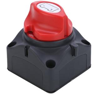 Image 3 - 1pc 24V 600A Auto Batterie Isolator Wichtigsten Batterie Not Pole Trennen Separator Schalter für RV Boot 68*68*74mm