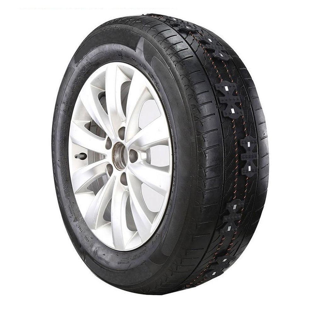 Winter Non-slip Universal Black Wearproof Wheel Tire Anti-skid Emergency Chain For Car Truck SUV MPV Auto Car Accessories