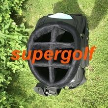 Новая сумка для гольфа SC черного/зеленого цвета, профессиональная сумка EMS, сумка для клюшек для гольфа