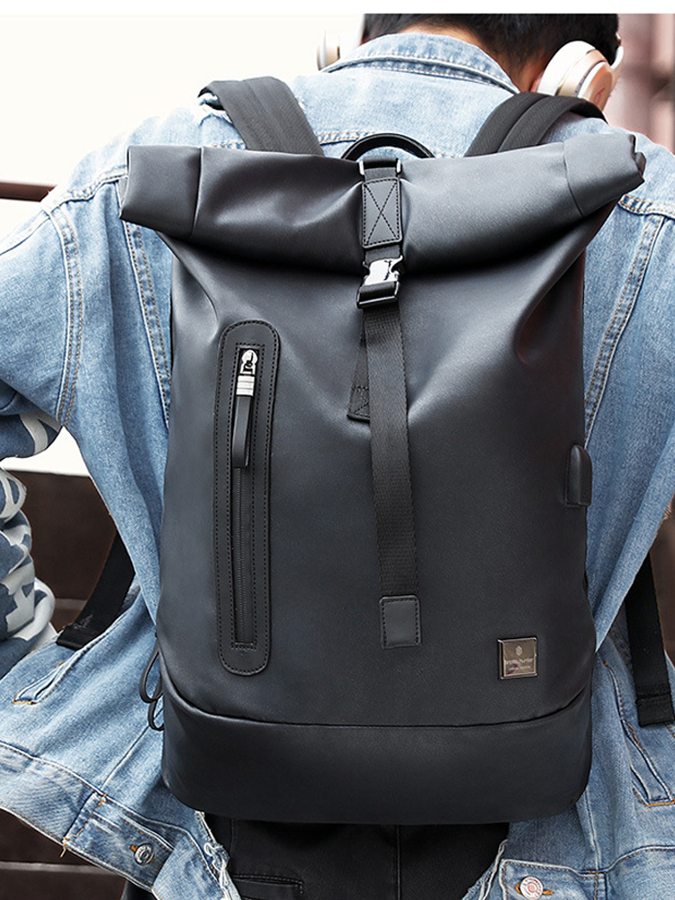 2019 New Arrival Fashion Schoolbag for 15.6 inch Laptop Anti theft Cool Men  Usb Charging Backpacks