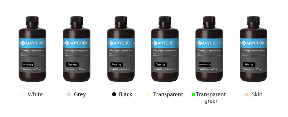 ANYCUBIC 3D Printer Universal Resin 405nm - 1L 6