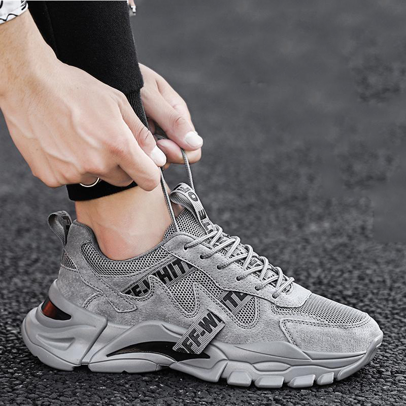 NAIK PLLO New Men's Shoes Spring And Summer Breathable Casual Sports High Quality OFF Trend Street Men Sneaker Fashion 2020 New