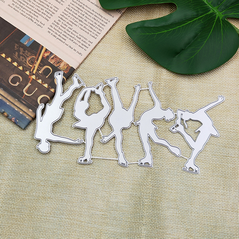 3pcs Leaves Metal Cutting Dies Stencils DIY Scrapbooking//photo album GS