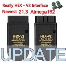 Real 21.3 atualização popolar hex v2 20.12.0 interface vagcom 20.4.2 vag com 19.6 para vw para audi para skoda assento frete grátis