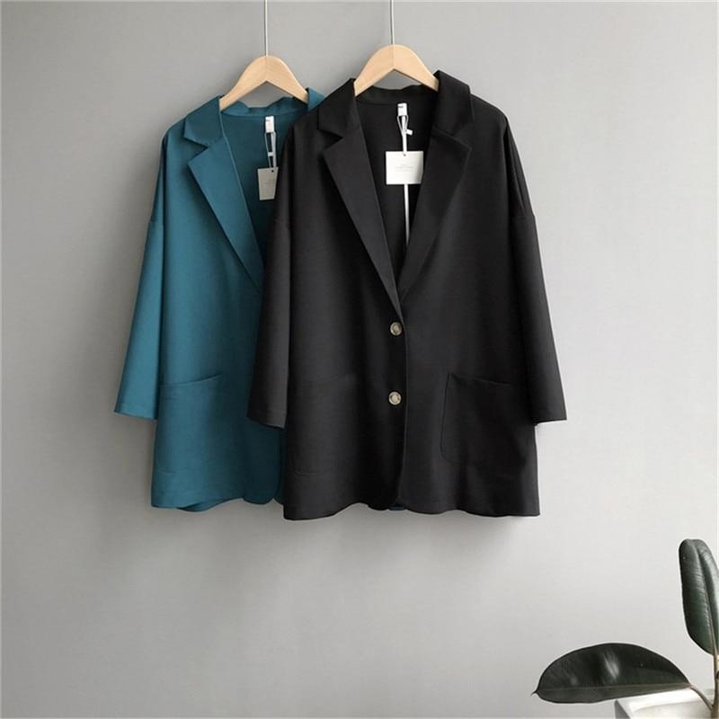 Women Office Jacket Slim Suit clothes 2019 Autumn Women`s Working Suit vadim blazer women`s tops Ladies Business Suit (21)