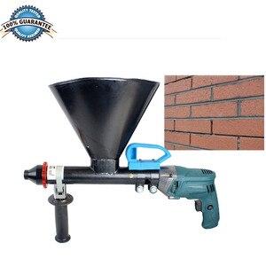 Image 4 - المحمولة الاسمنت ملء بندقية معدات الحشو الكهربائية مقاوم للماء وتسرب ملء آلة الحشو