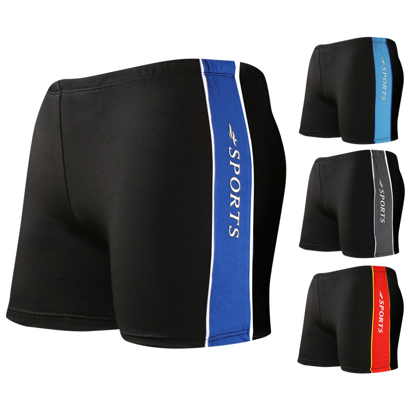 300 Swimming Trunks Extra Large Men Boxer Fat Swimming Trunks Plus-sized Winter Swimwear Yk138