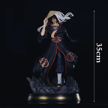 Naruto Akatsuki Organize GK Uchiha Itachi Itachi God PVC Scenes Study Action Figure Collection Model Toys X4285