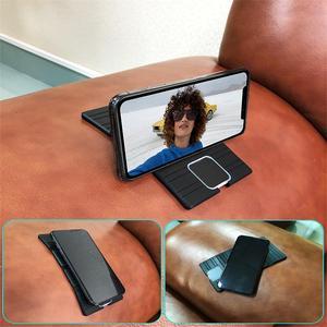 Image 5 - Cargador de coche inalámbrico de silicona de 15W, Base de carga rápida plegable, antideslizante, para iPhone X, XS, 11 y Huawei