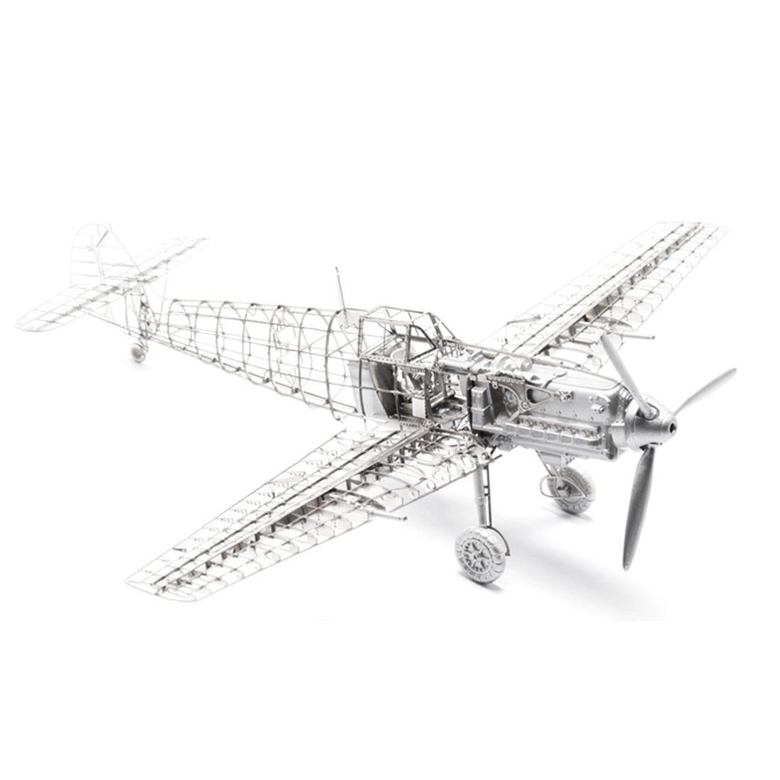 1/72 Bf109E-4 модель самолета комплект фото-травленные листы украшения самолета металлическая Военная Сборная модель Diy игрушки для детей Подарк...