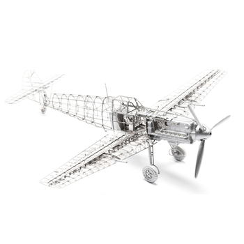 1/72 Bf109E-4 Airplane Model Kit Photo-Etched Sheets Aircraft Decoration Metal Military Assembly Model Diy Toys For Kids Gifts