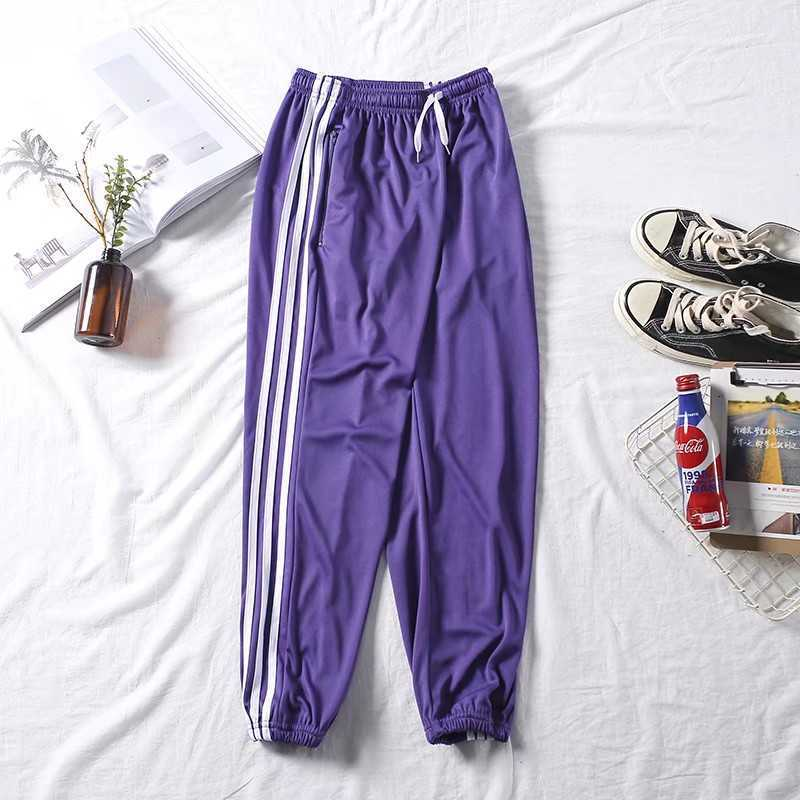 Spring New Style Athletic Pants Men's Loose And Plus-sized Straight-Cut Autumn Cotton Long Pants Summer Thin Section Closing Cas