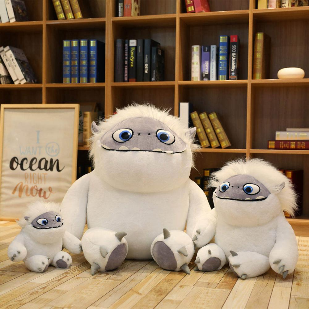 35-90cm-Movie-Abominable-Snow-monster-Yeti-plush-cute-Anime-doll-toys-for-Children-gift (2)
