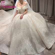 Роскошное бальное платье vestido de noiva свадебные платья 2020