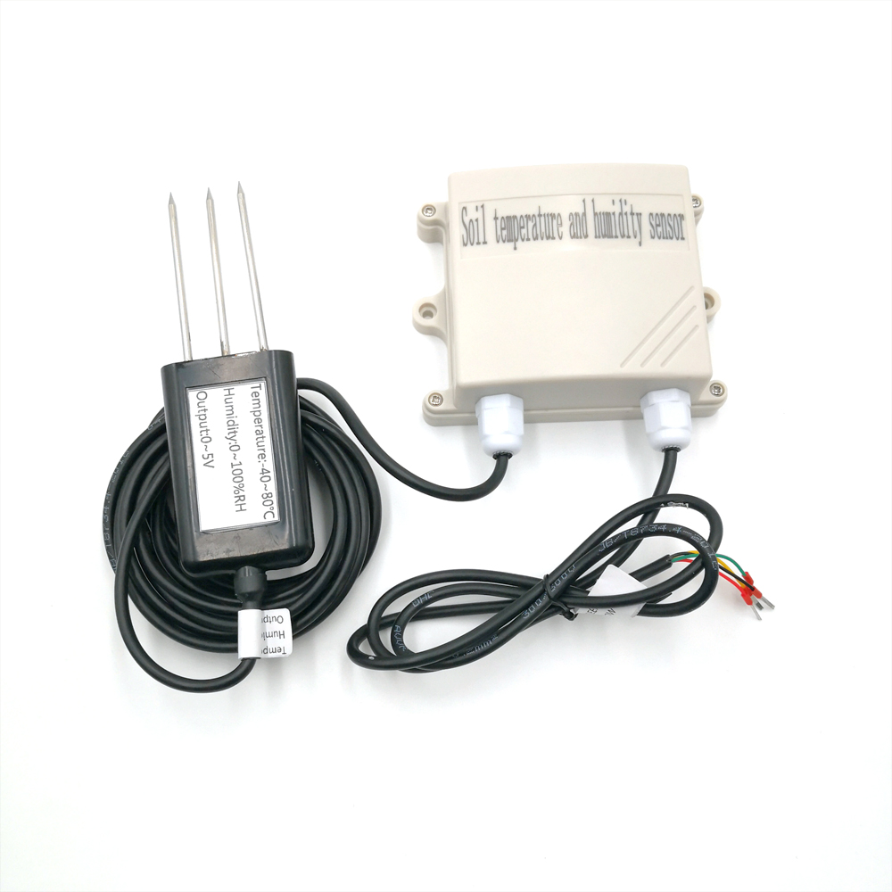 Wired Analog Soil Temperature And Humidity Detector Has A Detection Range From -40 To 80 Humidity 0-100%RH Output Voltage0-5V