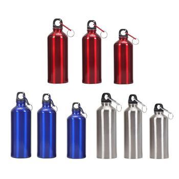 Бутылка для воды на открытом воздухе, велосипед, Спортивная бутылка для воды, алюминиевый чайник с крышкой, школьные герметичные уплотнения, чайники для восхождения