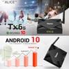 Tanix TX6S Smart TV Box Android 10 4GB RAM 32GB 64GB Allwinner H616 Quad Core Android 10 0 TV Box H 265 4K Media player 2GB 8GB flash sale