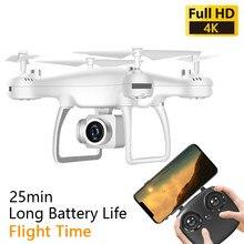 Zangão rc com câmera hd 4k quadcopter dron brinquedos profissional zangão fpv wifi dron grande angular câmera longa vida da bateria dron presente