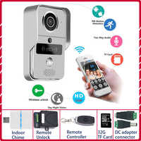 IP wideodomofon 4G wideodomofon dzwonek do drzwi dzwonek do drzwi kamera wifi Alarm bezprzewodowa kamera bezpieczeństwa karta SD dodaj kartę 32GB