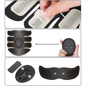 Image 4 - Yooke inteligentny akumulator Pulse stymulator mięśni elektryczny masażer wyszczuplający tłuszcz 10 sztuk samoprzylepne wymiana Unisex