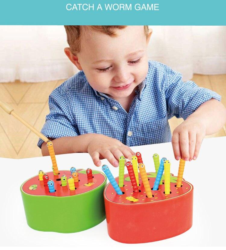 Ca brinquedos de madeira do bebê 3d