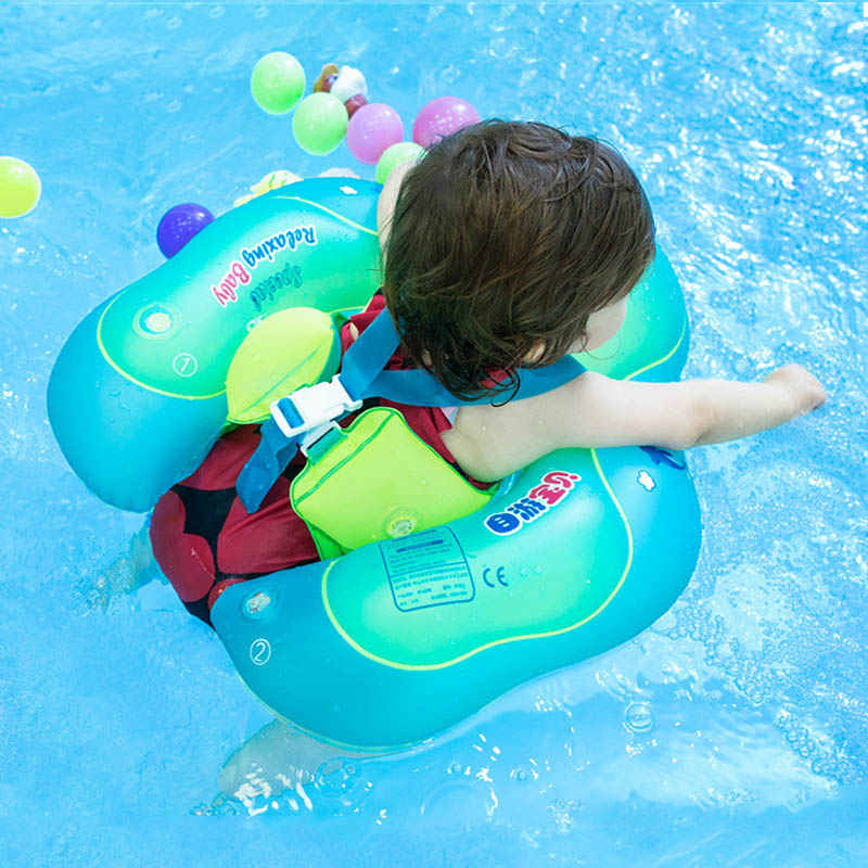 Inflatable Swimming Ring Baby Bath Swim Circle Children's Arms Ring Swim Pool For Newborn PVC Swimming Ring 0-6 Years Old