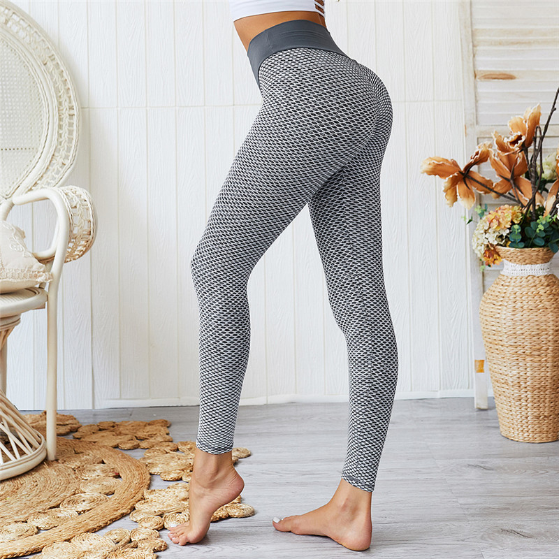 NORMOV Patchwork Leggings Women Sexy Slim Hollow High Waist Fitness Pants Women Seamless Skinny Breathable Workout Gym Leggings