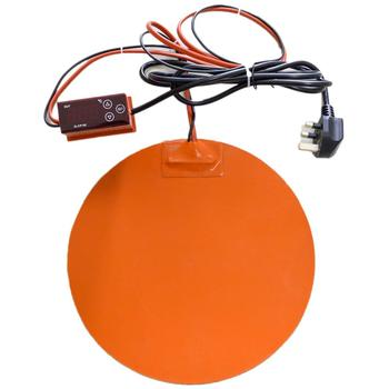 Flexible Silicone Heating Pad Heater Dia.400mm 220v 1000-1600w with Digital Temperature Controller