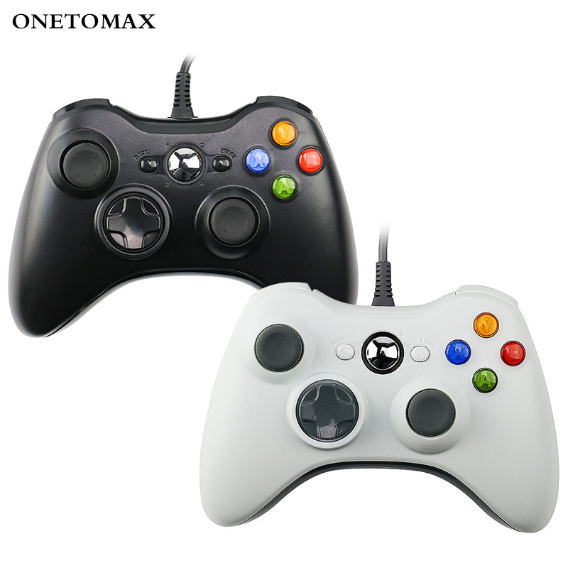 USB Wired Gamepad For PC Controller For Microsoft Windows 7 / 8 / 10 Controle Joystick Not for Xbox 360 Game Controller Joypad image