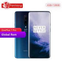 Global ROM OnePlus 7 Pro 6GB 128GB Smartphone 48MP Camera Snapdragon 855 6.67 Inch Fluid AMOLED Display Fingerprint UFS 3.0 NFC