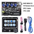 BIGTREETECH СКР мини E3 V1.2 32Bit доска + TFT35-E3 V3.0 Сенсорный экран E3 DIP TMC2209 TMC2208 3D-принтеры Запчасти для Ender-3 CR-10