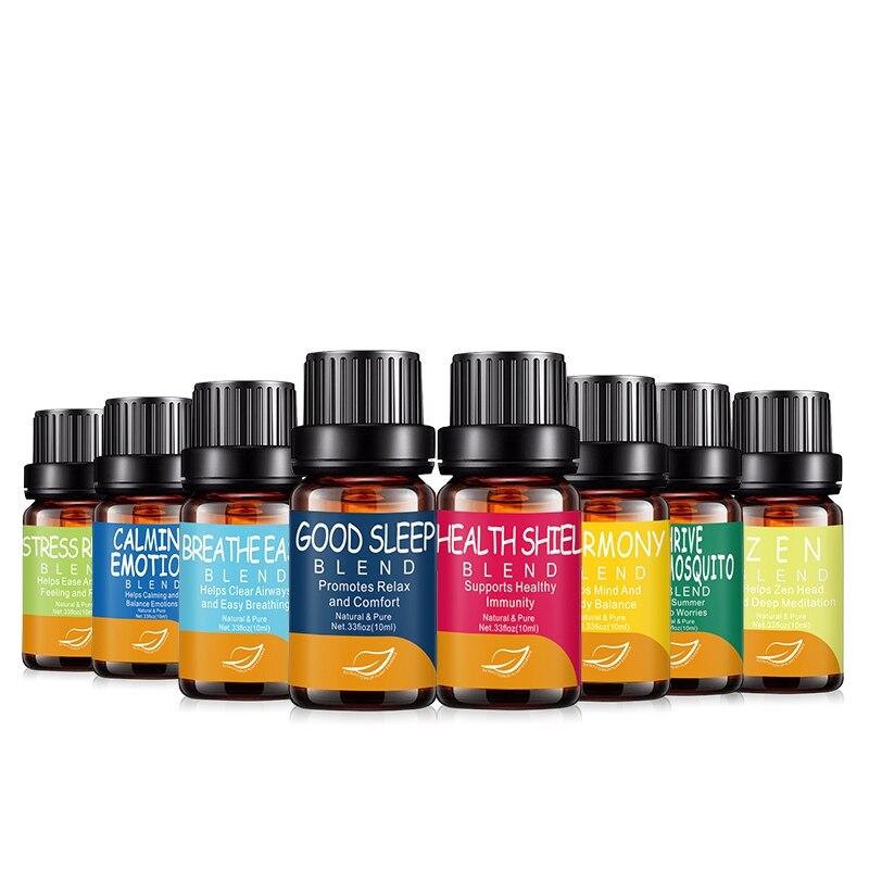 1 conjunto puro natural aromaterapia óleos essenciais